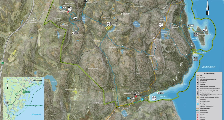 karta skuleskogen Vandra Skuleskogens Nationalpark | Friluftsbyn karta skuleskogen